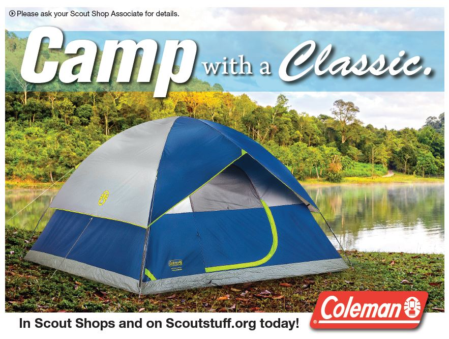 Coleman Tents on Sale
