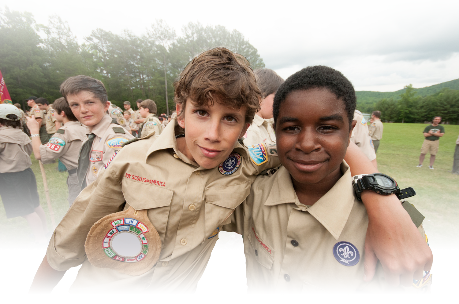 Two Boy Scouts