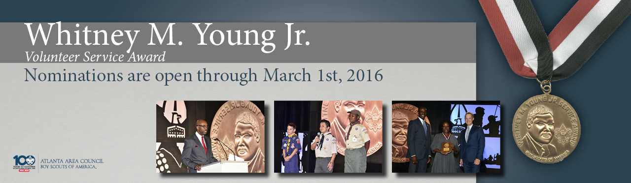 Nominations are open for the Whitney M. Young Jr. Award until March 1, 2016