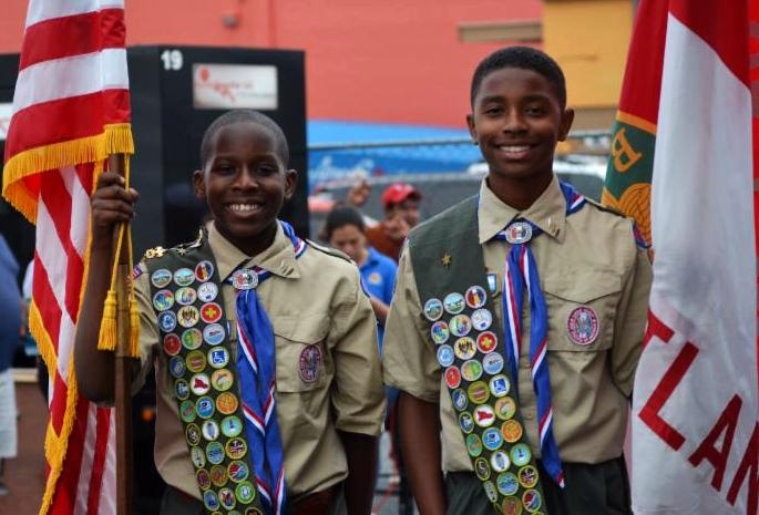 12 Scouts earn Eagle together