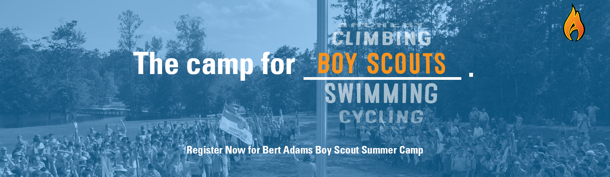 Register for Boy Scout Summer Camp