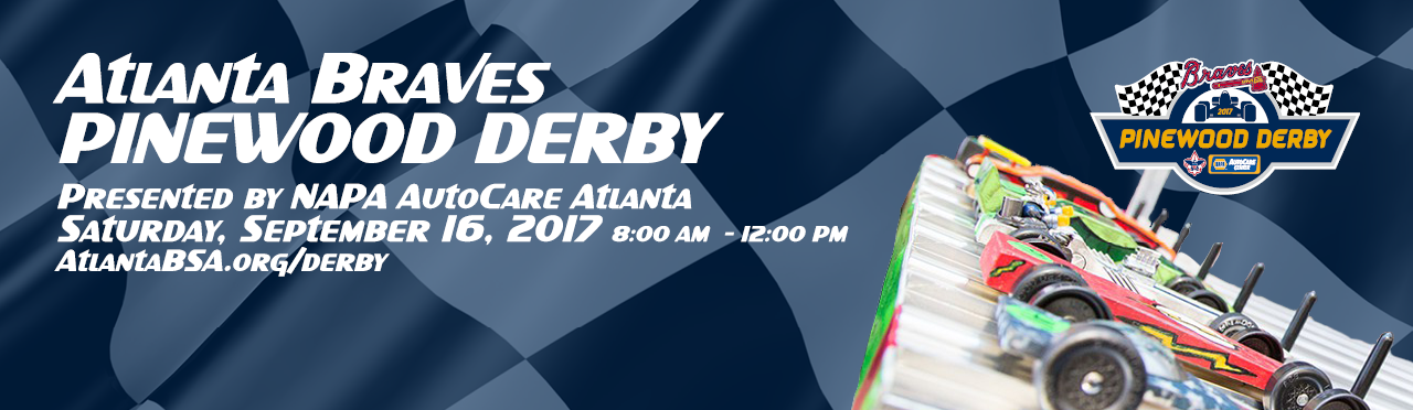Atlanta Braves Pinewood Derby on September 16