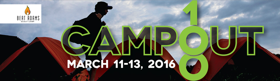 Register to attend Campout 100, the biggest camping event of the year