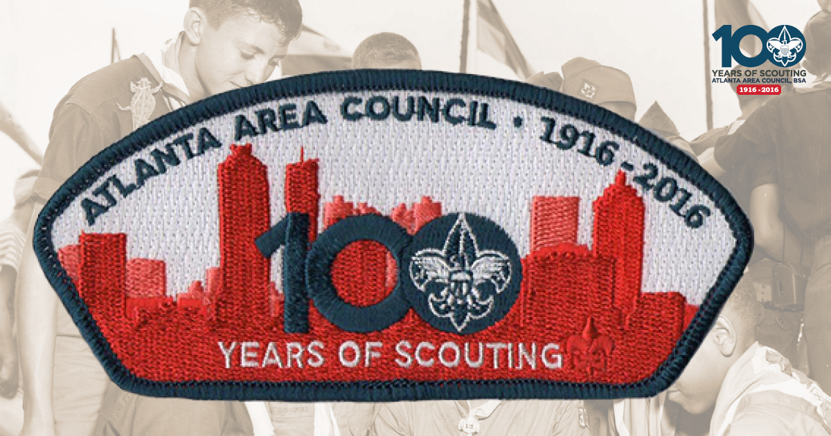 Council 100th Anniversary Patch