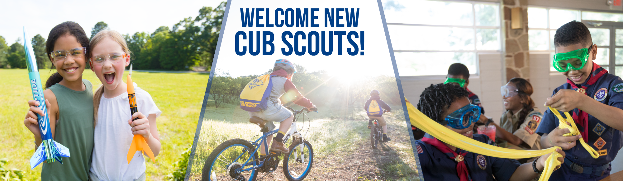 Welcome new Cub Scouts!