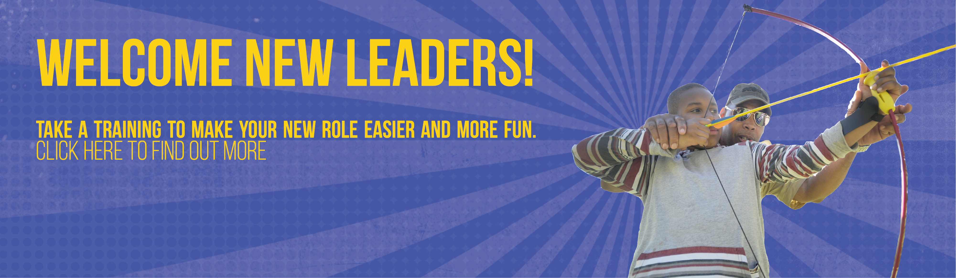 Get Trained as a Cub Scout Leader, Click Here