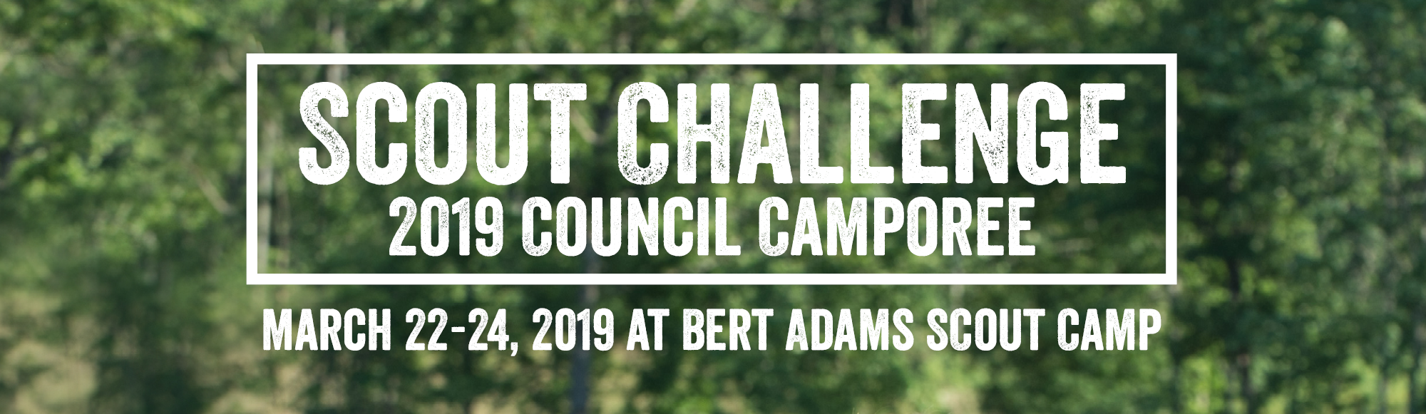 Scout Challenge 2019: The Atlanta Area Council's Camporee