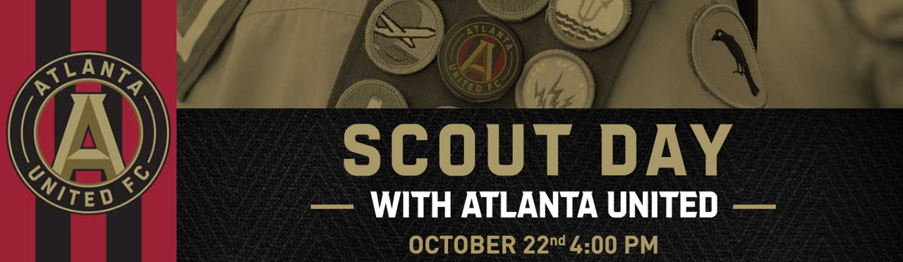 Scout Day with Atlanta United on October 22