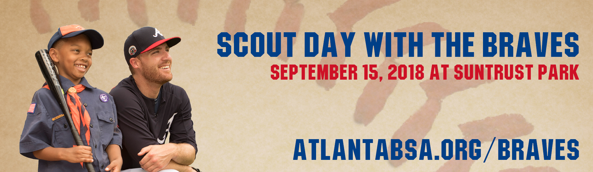 Scout Day with the Braves on September 15