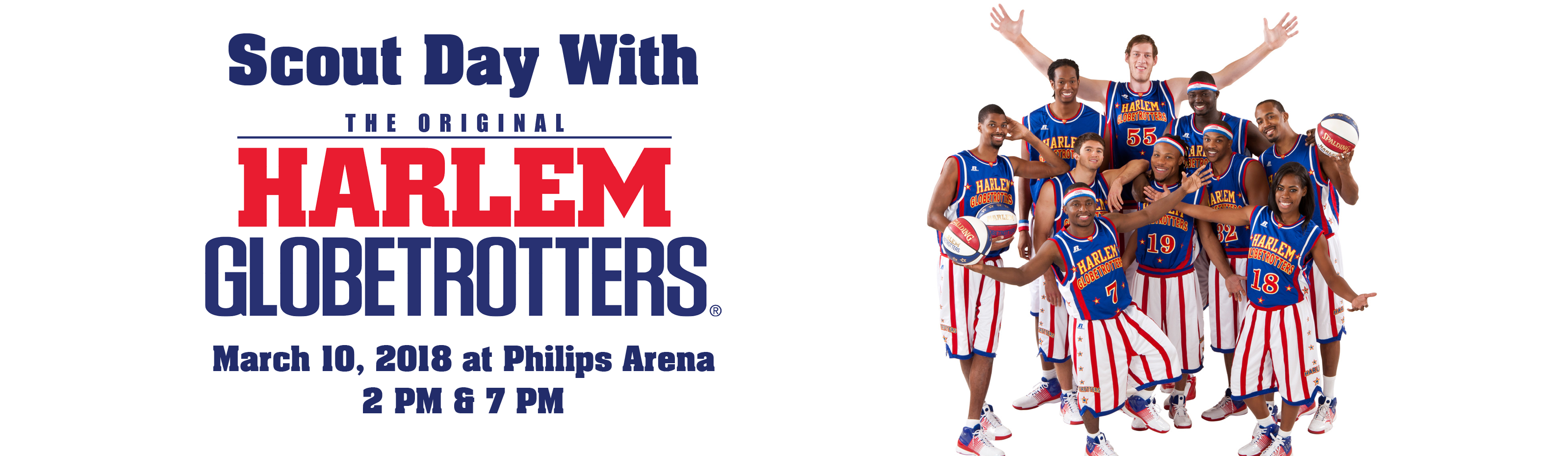 Scout Day with the Harlem Globetrotters