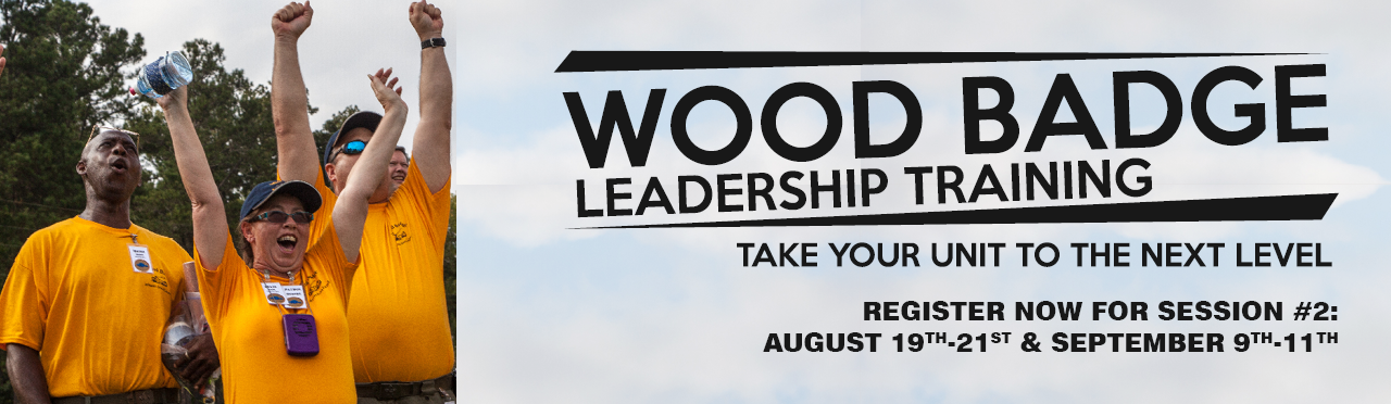 Register for Wood Badge