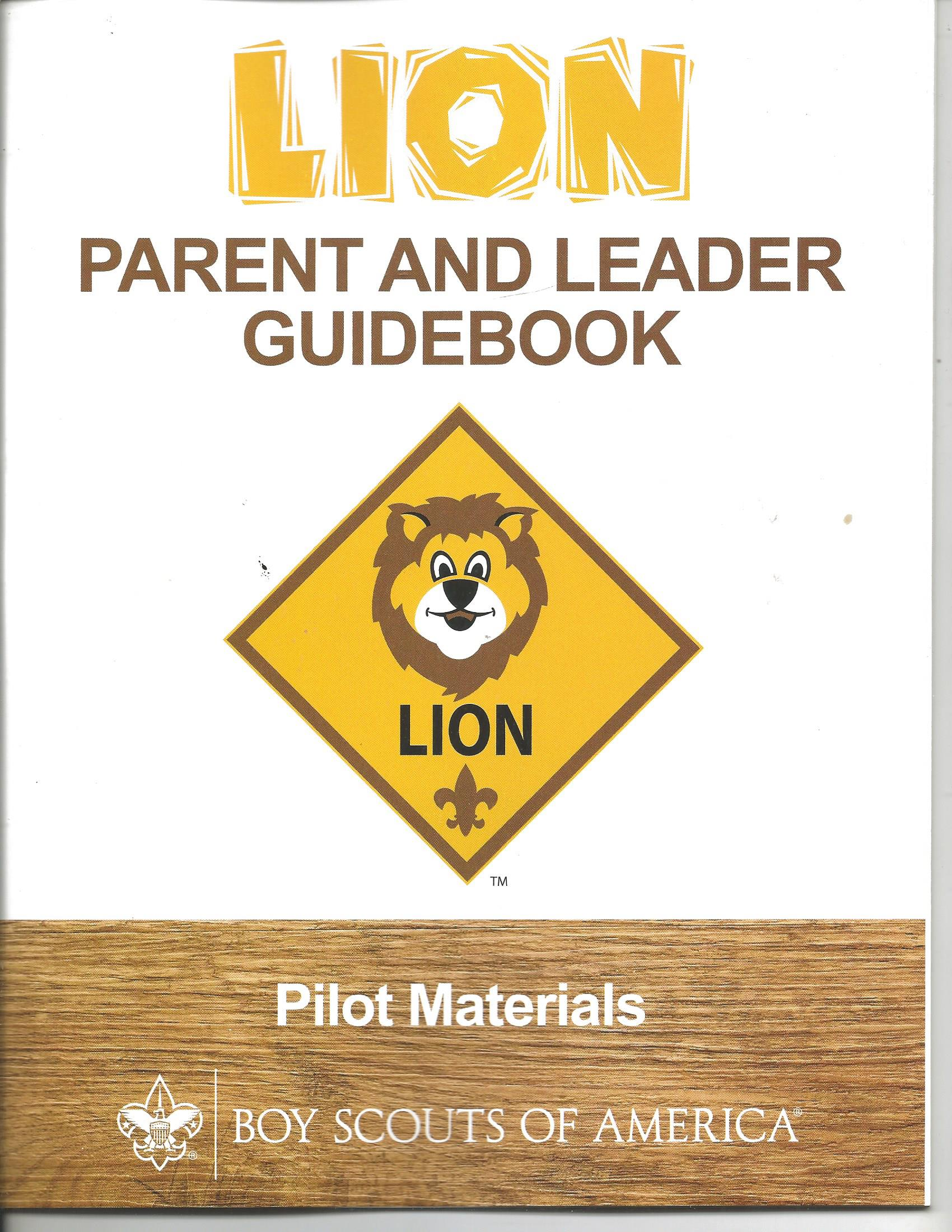 Lion Parent/Leader Guide