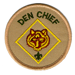 Den Chief Rank Patch