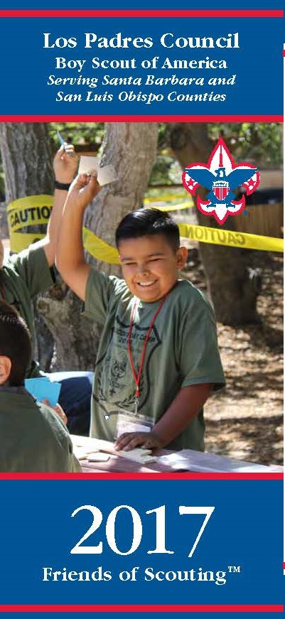 Friends of Scouting Brochure 2017 - Cover