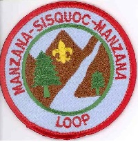 Manzana-Sisquoc-Manzana Loop Award Patch