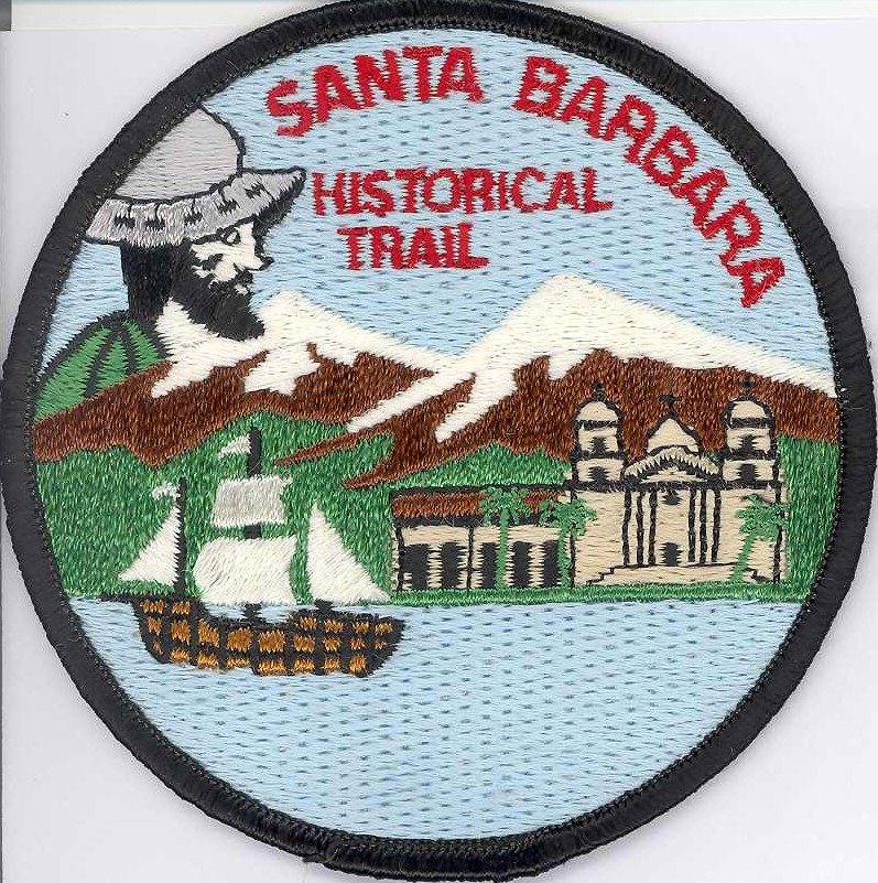 Santa Barbara Historical Trail Patch