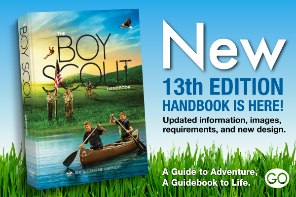 Scout Handbook, 13th Edition