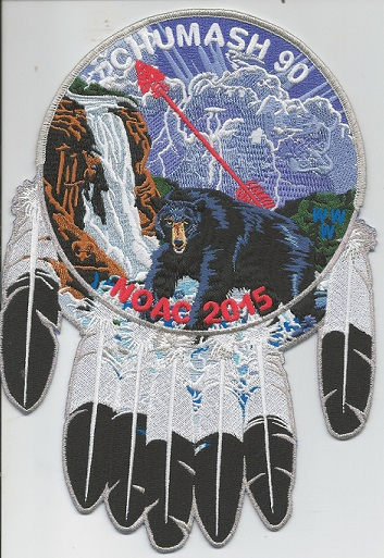 Chumash Jacket Patch