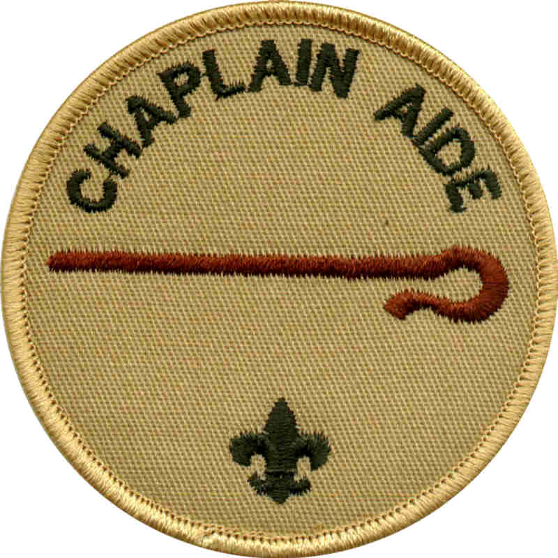Chaplain Aide Patch