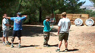 Archery at Rancho Alegre