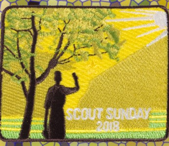 Scout Sunday 2018 Patch
