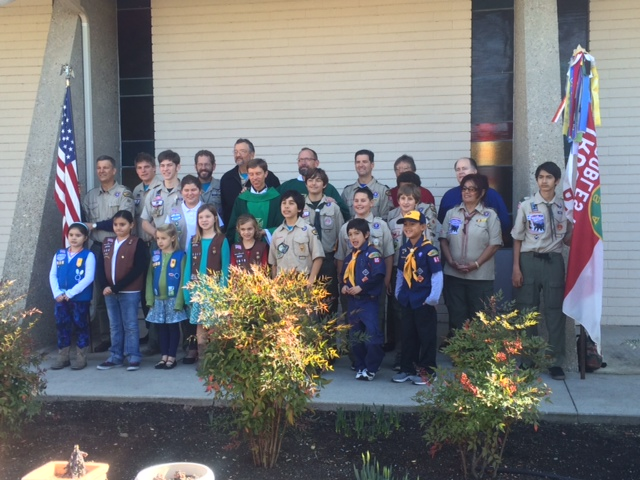 Scout Sunday 2015 - St Rose Church, Paso Robles