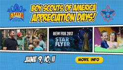 Elitch Gardens Boy Scout Appreciation Days