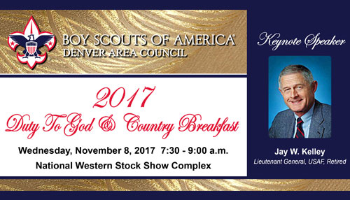 2017 Duty to God Breakfast
