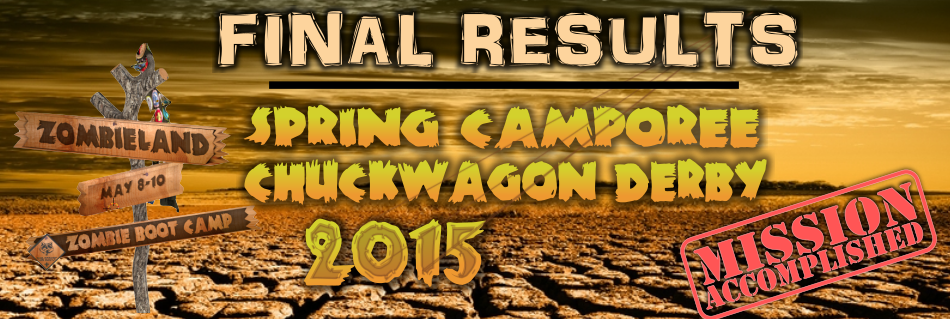 Chuckwagon Camporee Final Results