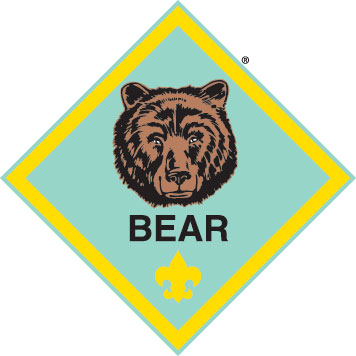 cub scout bear badge