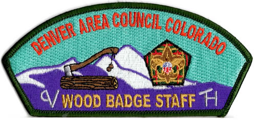Denver Area Council Wood Badge Staff