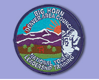 Big Horn NYLT patch