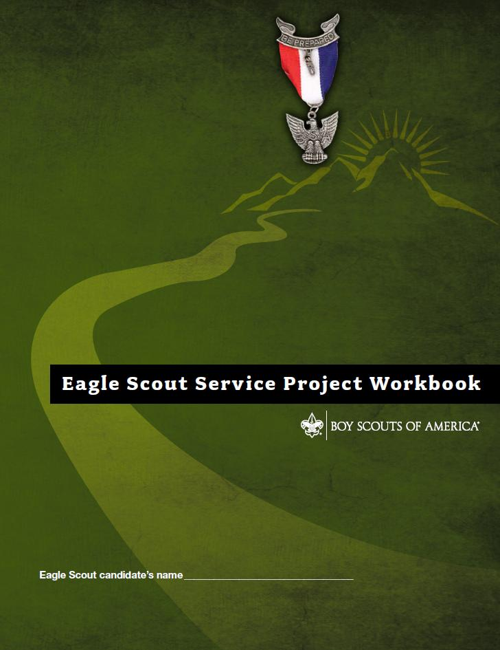 Worksheet Eagle Scout Worksheet trail to eagle scout project workbook