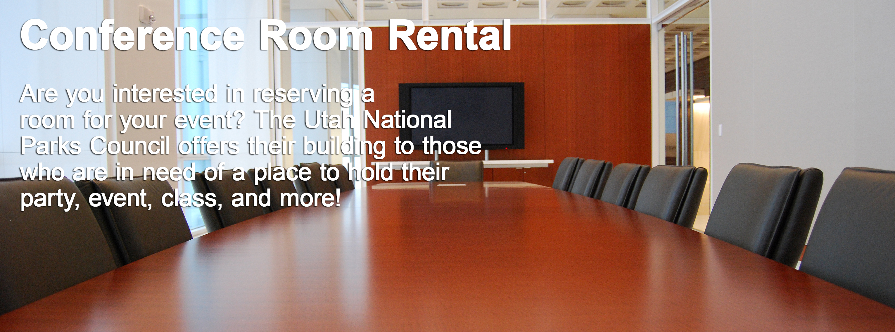 Conference Room Rentals