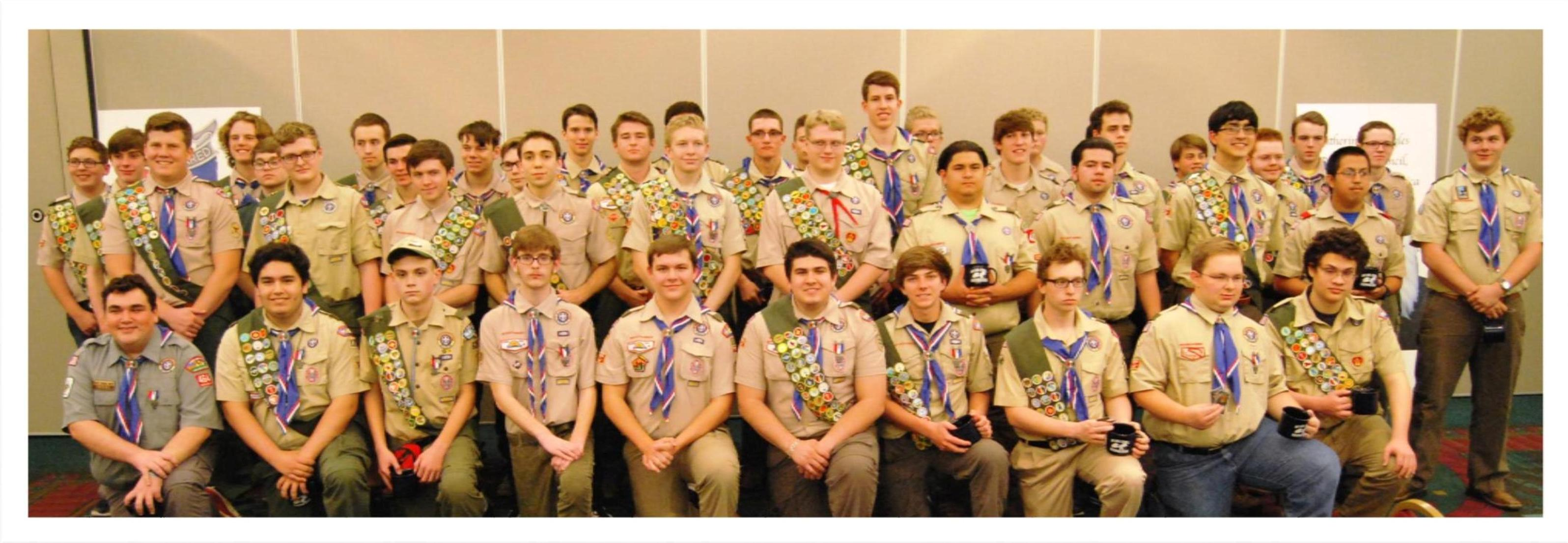 Class of 2016 Eagle Scouts