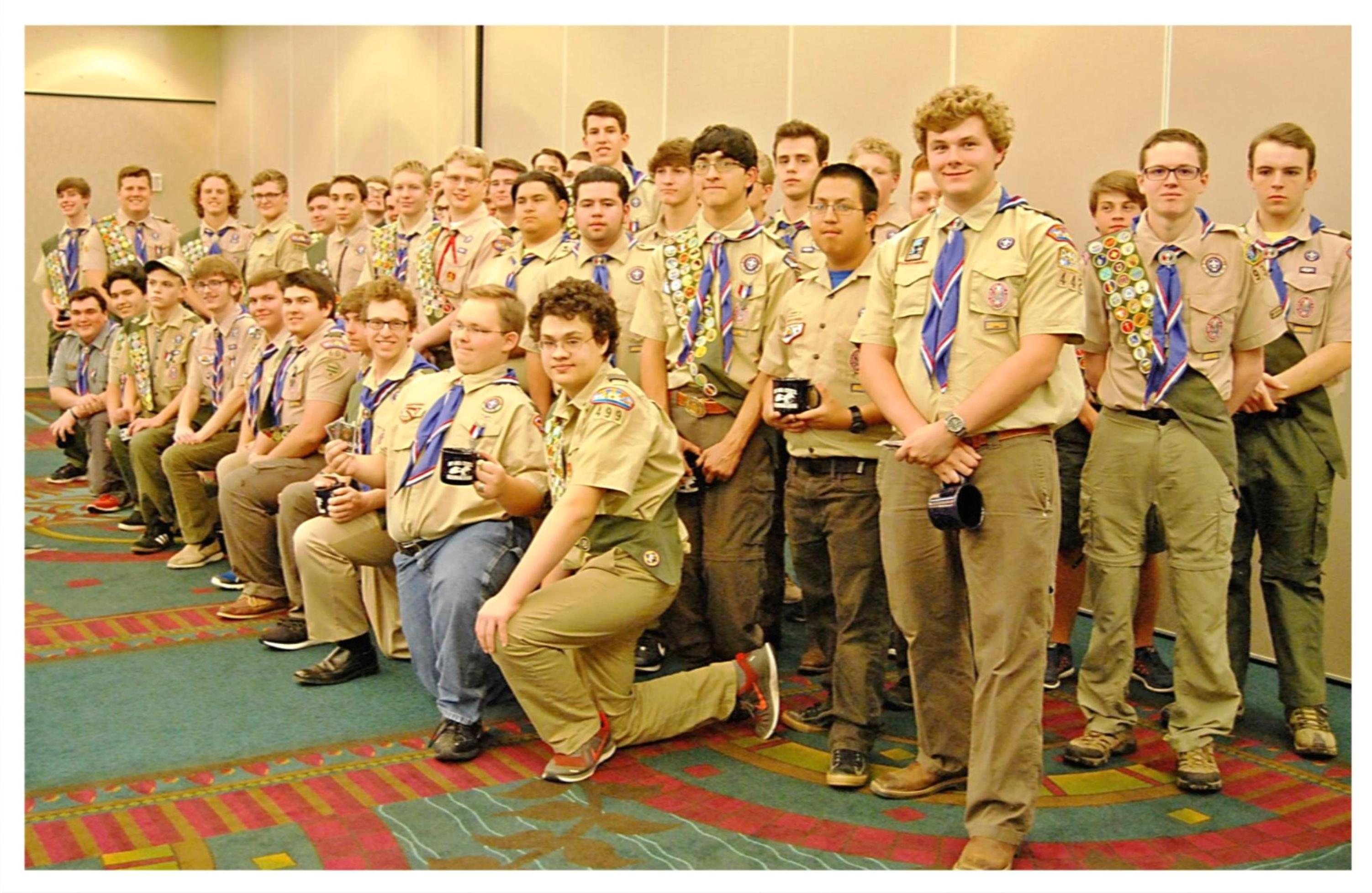 Eagle Scouts Class of 2016 Bay Area Council