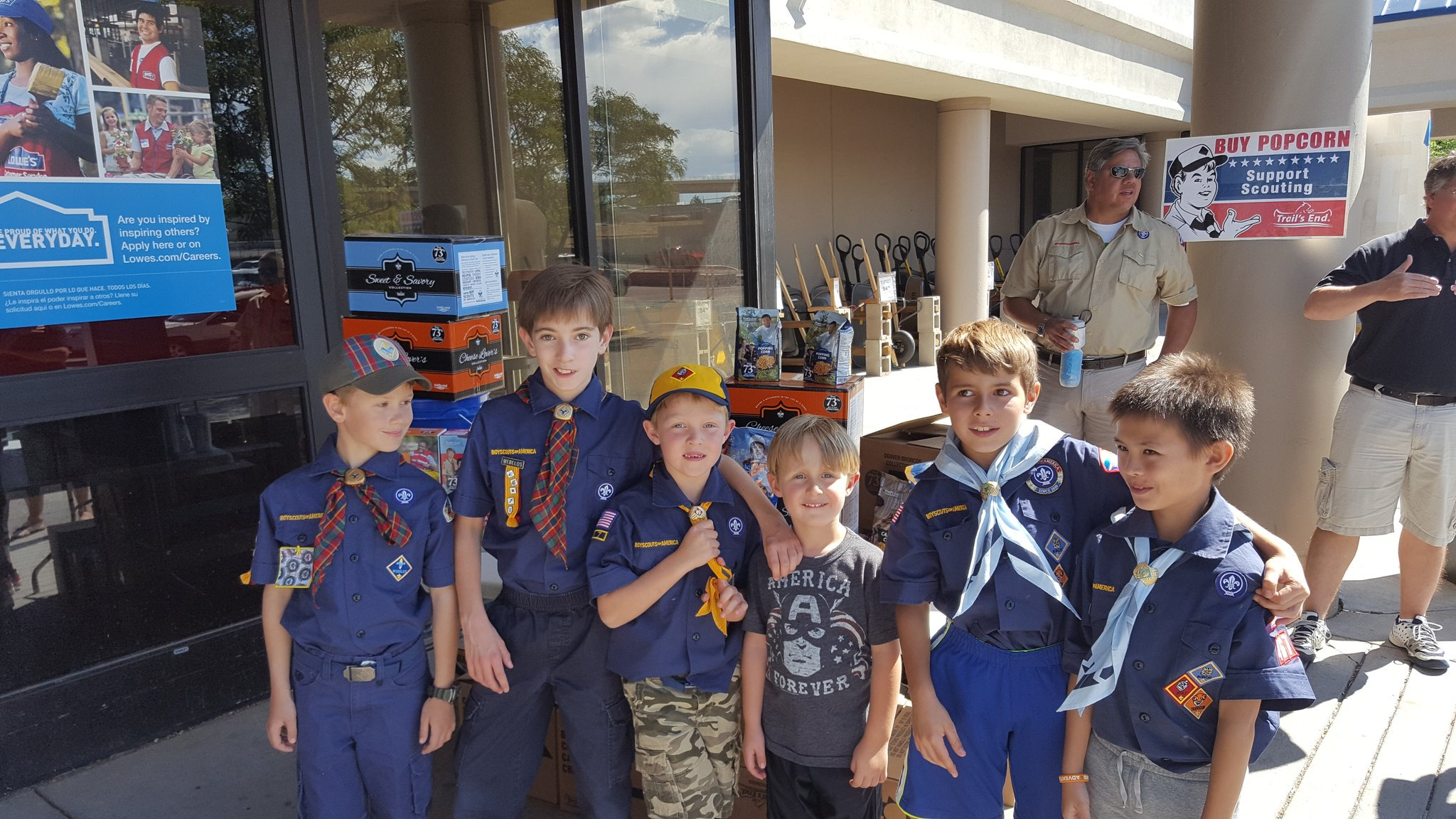 Popcorn and Scouts