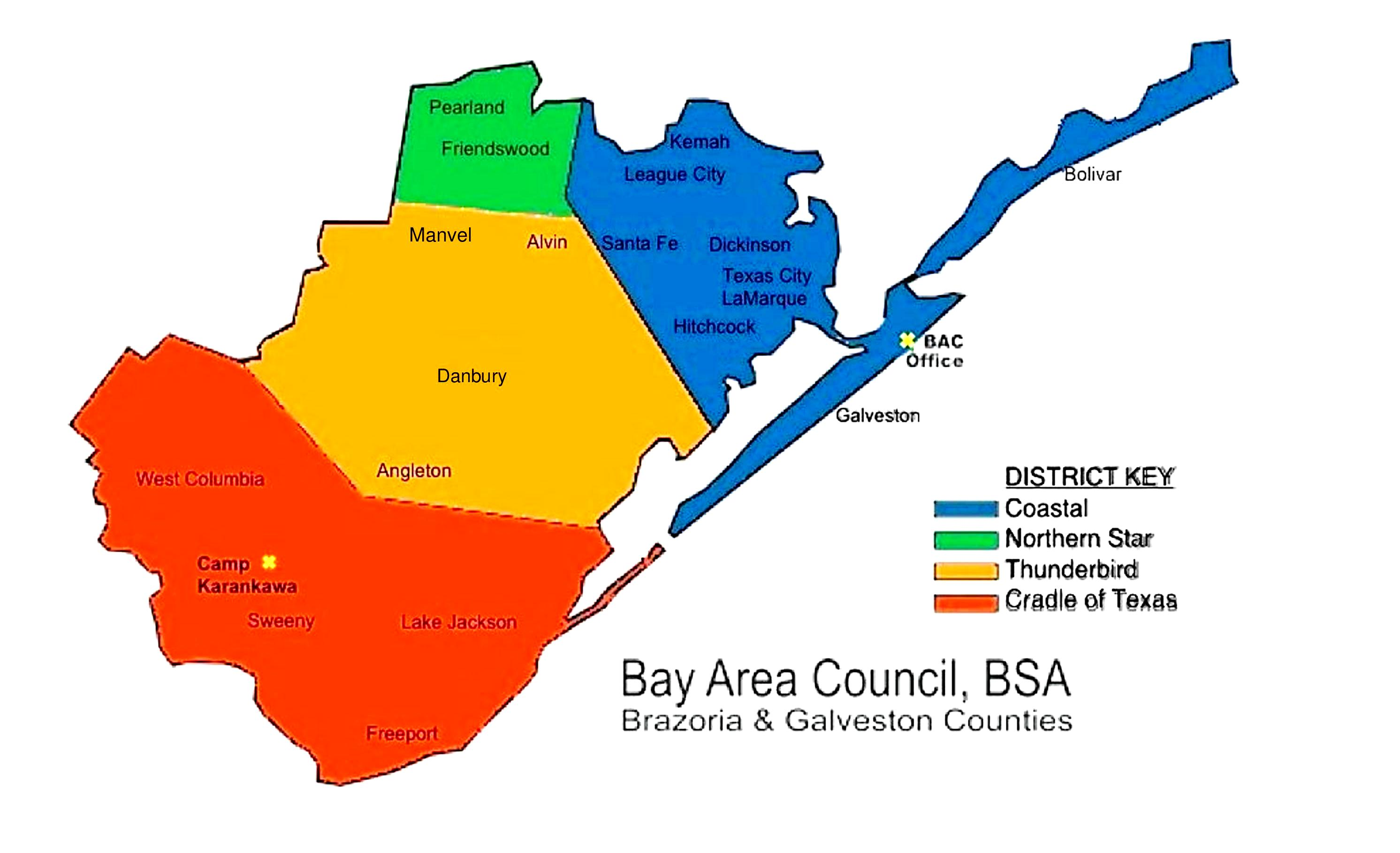 Bay Area Council District Map
