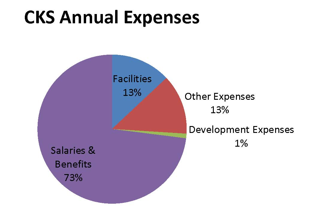 Annual Expenses at CKS