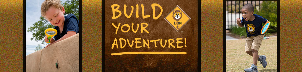 Lion Cub Build Your Adventure