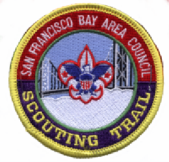 Scouting Trail Center Patch