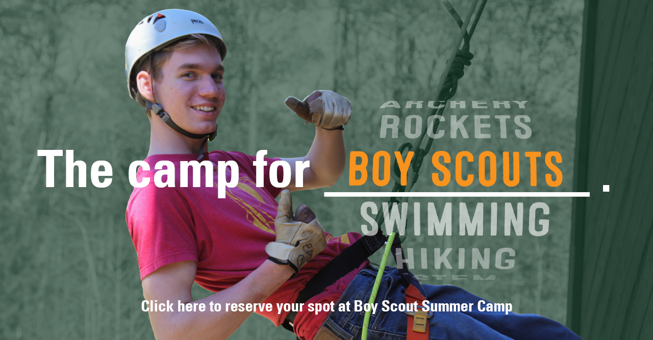 The Camp for Boy Scouts