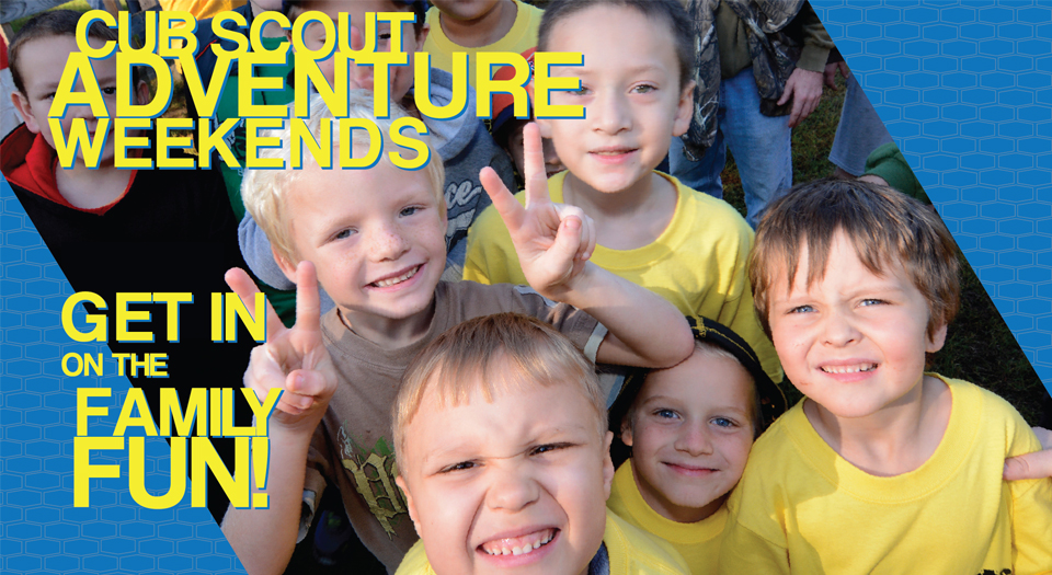 Learn more about Cub Scout Adventure Weekends