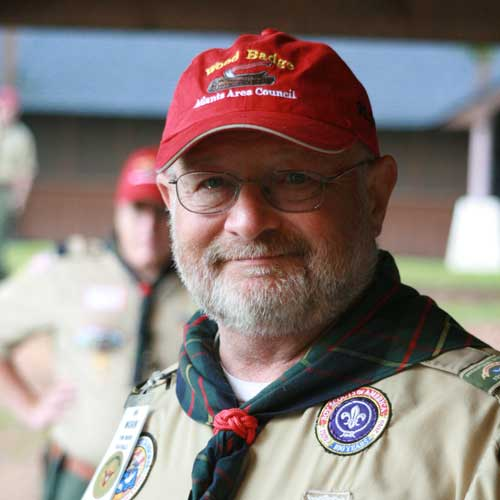 Camp Director Tom Morin