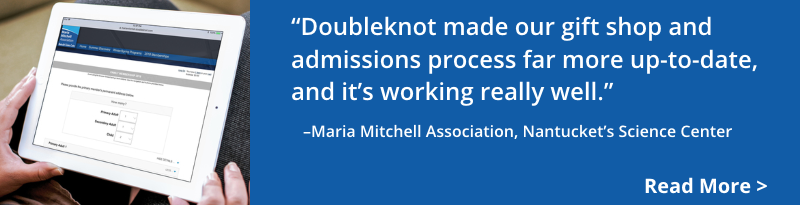 The Maria Mitchell Association, Nantucket's Science Center, increased revenue and memberships with Doubleknot. Read more!