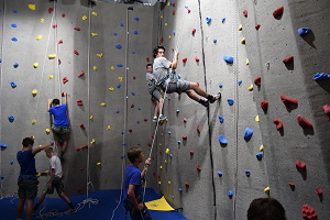 Rock Gym Climbing Wall