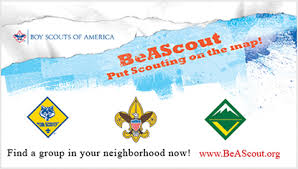 Link to Be A Scout dot org