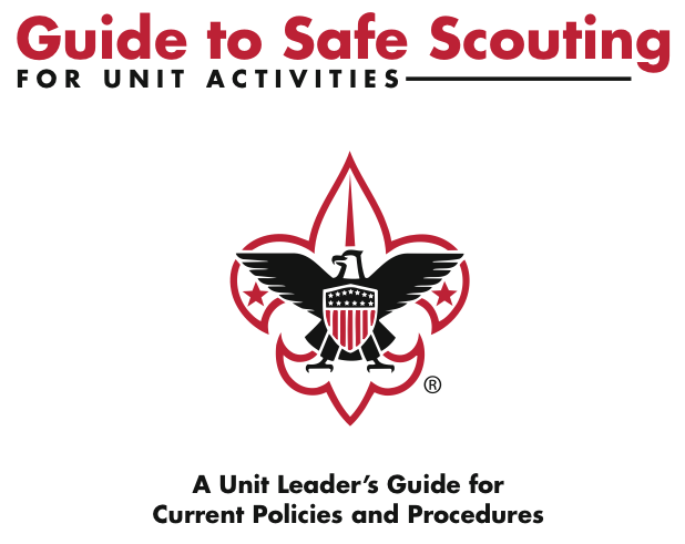 safety training rh tetonscouts org guide to safe scouting changes guide to safe scouting changes
