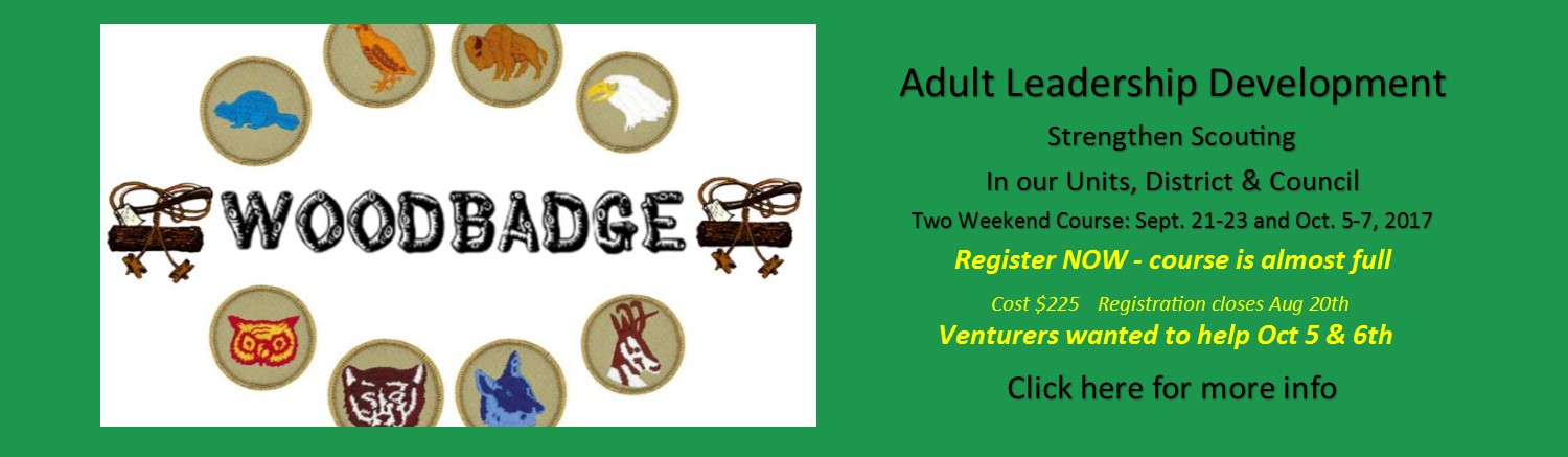 Woodbadge Fall Course