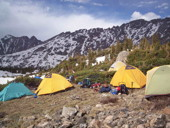 Alpine Adventure campsite at Camp Tahosa